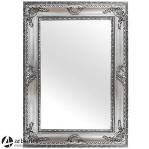 Duże lustro srebrne w stylowej, antycznej ramie rzeźbionej 62364 - 2829133673