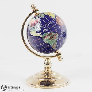 Mały globus wykonany z masy perłowej 56846 dekoracja - 2829133932