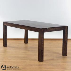 Duży stół rozkładany 80707 pełne drzewo palisander 150/240 cm