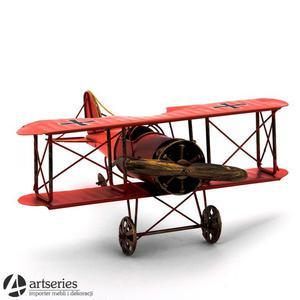 Prezent dla lotnika - replika samolotu z metalu 50396 - 2829132539