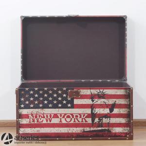Skrzynia USA retro 89898e - flaga - największa - 2829134155