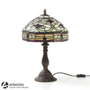 Elegancka lampa witrażowa do salonu, pokoju czy sypialni - 62559