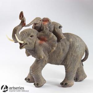 Para słoni - figurka dekoracyjna 555148 - 2829134850