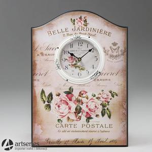 Obrazek z motywem kwiatowym oraz zegarkiem 93344 - 2836520071