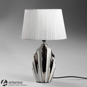Oryginalna lampa ze srebrna podstawą 4440590 - 2836520073