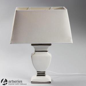 Lampka nocna do sypialni w kolorze białym 999041 - 2836520076