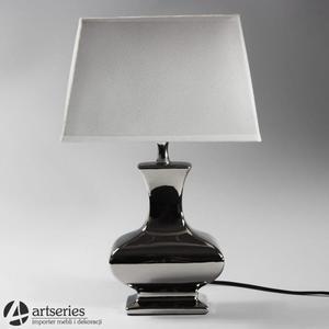 Nocna lampka ze srebrną, oryginalna podstawą 999040 - 2836520077