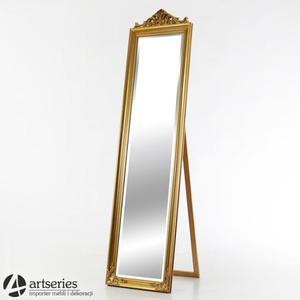 Złote, antyczne i stylizowane lustro stojące 106113 - 2852739448