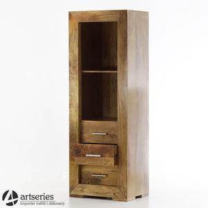 Regał, biblioteka z szufladami, styl kolonialny - 164007 - Lizbona