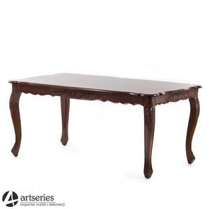 Stylizowany, drewniany st - 2861277002