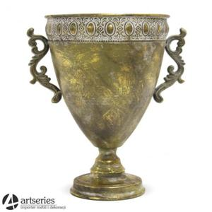 Złoty wazon w kształcie pucharu 108891 - 2886093069