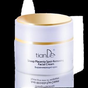 Krem regenerujący przeciwzmarszczkowy do twarzy na bazie placenty, TianDe (na noc), 50 g. - 2857883797