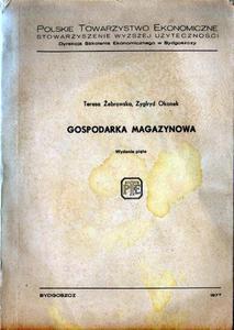 GOSPODARKA MAGAZYNOWA Teresa  - 2861021651