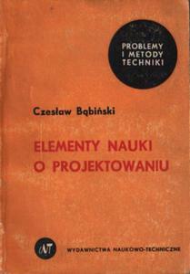ELEMENTY NAUKI O PROJEKTOWANIU Czes - 2861023197