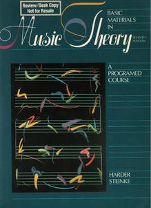 BASIC MATERIALS IN MUSIC THEORY. A PROGRAMED COURSE. SEVENTH EDITION [antykwariat] - 2895429172