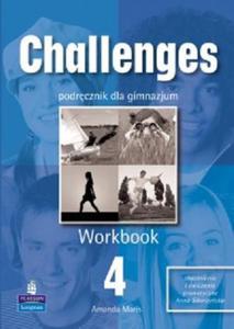 JĘZYK ANGIELSKI. CHALLENGES 4. WORKBOOK - 2834459199