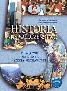 HISTORIA I SPOŁECZEŃSTWO. PODRÓŻE W CZASIE. PODRĘCZNIK DLA KL. 5 SZKOŁY PODSTAWOWEJ - 2834459232