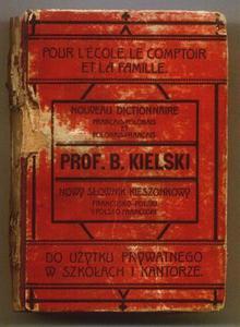 Bolesław Kielski NOWY SŁOWNIK KIESZONKOWY FRANCUSKO-POLSKI I POLSKO-FRANCUSKI [antykwariat] - 2834459418