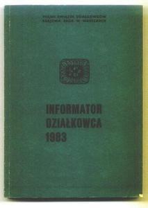 INFORMATOR DZIAŁKOWCA 1983 [antykwariat] - 2834459427