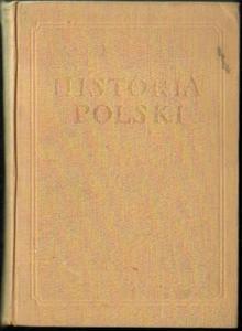 HISTORIA POLSKI TOM III CZĘŚĆ I: 1850/1864-1900 [antykwariat] - 2834459698