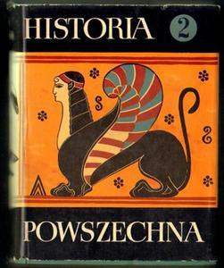 HISTORIA POWSZECHNA. TOM 2 [antykwariat] - 2834459729
