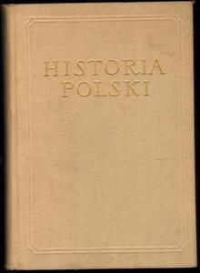 HISTORIA POLSKI TOM II CZĘŚĆ III: 1831-1864 [antykwariat] - 2834459742
