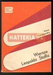 Irena Maciejewska WIERSZE LEOPOLDA STAFFA [antykwariat] - 2834460045