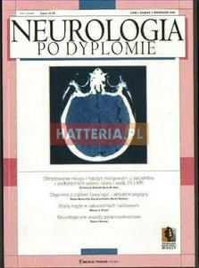 NEUROLOGIA PO DYPLOMIE. TOM 1 NR 5. WRZESIEŃ 2006 [antykwariat] - 2834460164