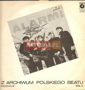 Z ARCHIWUM POLSKIEGO BEATU VOL. 4 (Niebiesko-Czarni ALARM!) [płyta winylowa używana] - 2834460182