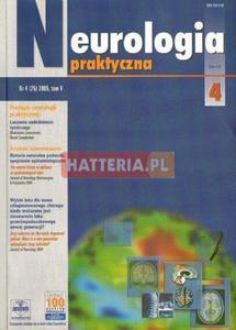 NEUROLOGIA PRAKTYCZNA. NR 4 (25) 2005. TOM 5 [antykwariat] - 2834460271