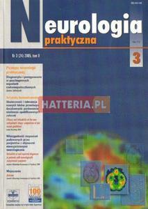 NEUROLOGIA PRAKTYCZNA. NR 3 (24) 2005 TOM 5 [antykwariat] - 2834460273