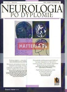 NEUROLOGIA PO DYPLOMIE. TOM 3 NR 6. LISTOPAD 2008 [antykwariat] - 2834460283