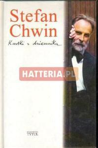 Stefan Chwin KARTKI Z DZIENNIKA [antykwariat] - 2834460312