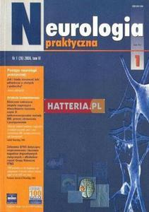 NEUROLOGIA PRAKTYCZNA. NR 1 (26) 2006. TOM 6 [antykwariat] - 2834460391