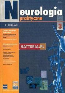 NEUROLOGIA PRAKTYCZNA. NR 3 (30) 2006. TOM 6 [antykwariat] - 2834460393