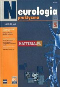 NEUROLOGIA PRAKTYCZNA. NR 5 (32) 2006. TOM 6 [antykwariat] - 2834460395