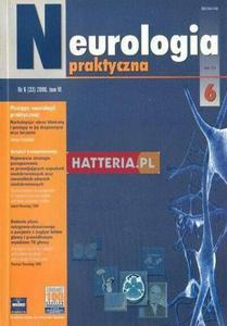 NEUROLOGIA PRAKTYCZNA. NR 6 (33) 2006. TOM 6 [antykwariat] - 2834460396