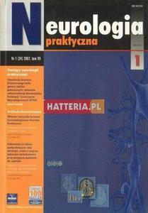 NEUROLOGIA PRAKTYCZNA. NR 1 (34) 2007. TOM 7 [antykwariat] - 2834460397