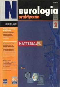 NEUROLOGIA PRAKTYCZNA. NR 2 (35) 2007. TOM 7 [antykwariat] - 2834460398
