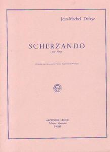 Jean-Michel Defaye SCHERZANDO POUR HARPE [antykwariat] - 2834460581