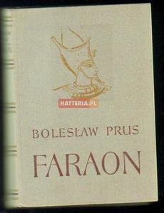 Bolesław Prus FARAON [antykwariat] - 2834460610