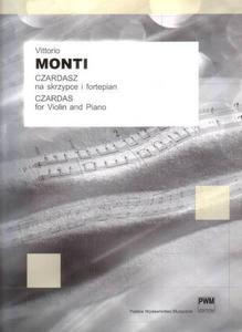 Victor Monti CZARDASZ NA SKRZYPCE I FORTEPIAN - 2834460915