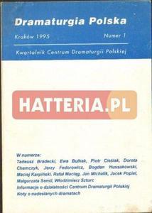 DRAMATURGIA POLSKA. NUMER 1 [antykwariat] - 2834461002