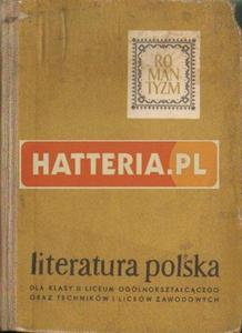 LITERATURA POLSKA OKRESU ROMANTYZMU [antykwariat] - 2834461068