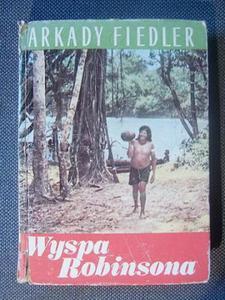 Arkady Fiedler WYSPA ROBINSONA [antykwariat] - 2832180707