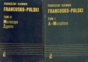 Kazimierz Kupisz, Bolesław Kielski PODRĘCZNY SŁOWNIK FRANCUSKO-POLSKI. 2 TOMY [antykwariat] - 2834461141