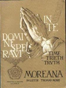 MOREANA: BULLETIN THOMAS MORE. Tom XXI, NR 83-84. DEC. 1984 [antykwariat] - 2834461204