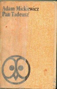 Adam Mickiewicz PAN TADEUSZ [antykwariat] - 2834461271