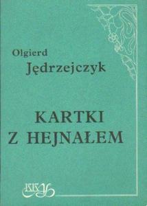 Olgierd Jędrzejczyk KARTKI Z HEJNAŁEM [antykwariat] - 2834461322