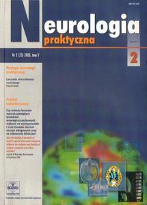 NEUROLOGIA PRAKTYCZNA. NR 2 (23) 2005. TOM 5 [antykwariat] - 2834461354